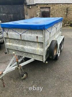 CLH Trailer 7 x 4 High Sides Twin Axle