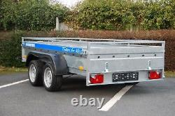 Canvas Cover 4 Car Trailer 10X5 Twin Axle 2700kg Braked Heavy Duty +FREE TRAILER