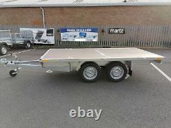Car Trailer 10 x 4 MAGICUS Flatbed 3m x 1.5m Twin Axle 750kg