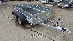 Car Trailer 300cm X 150cm Twin Axle 1300kg 10ft X5ft Braked Trailer Al-ko
