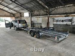 Car Transport Trailer Twin Axle LED lights Ramps