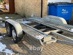 Car Transporter, Fully Galvanized, Twin Axle Trailer