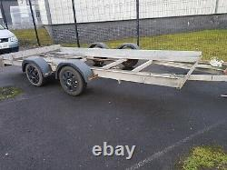 Car Transporter/Recovery Trailer, Twin Axle, Manual Winch, Braked LOOK