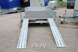 Car Transporter Trailer 3000kg 16ft X 7ft Twin Axle Al-ko Braked Flatbed