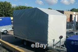 Car Transporter Trailer 3000kg 5m X 2,2m Twin Axle Al-ko Braked Flatbed