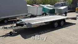 Car Transporter Trailer 4,5m X 2m Twin Axle 2700kg Al-ko Suspension