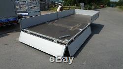 Car Transporter Trailer Box Trailer 4,5m x 2m x 2,2m 2700kg Twin Axle Braked