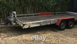 Car Transporter Trailer / Flat Bed / Tilt Bed / Twin Axle / 16ft