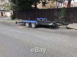 Car Transporter Trailer Twin Axle