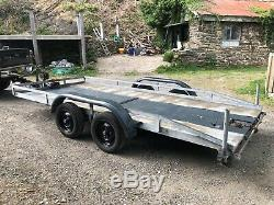 Car Transporter Trailer Twin Axle 14 X 6