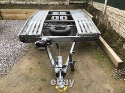 Car Transporter Trailer Twin Axle 2700kg 12v Winch