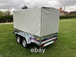 Car trailer extra sides 2021 quality trailer 8.5ft by 4.4ft twin axle