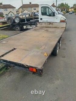 Car trailer twin axle Spare and repair