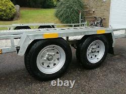 Car transporter trailer twin axle -2017