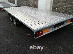 Car transporter trailer twin axle 4,50x2,10 2700kg