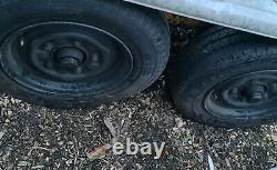 Car transporter trailer, twin axle, winch, recovery, flatbed van, breakdown, vehicle