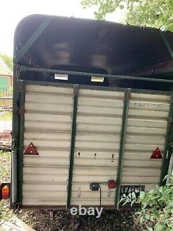 Cattle/livestock trailer Ifor Williams, twin axle