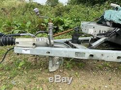 Cellette Lynx 2 Car Body Jig And Brian James Twin Axle Tipping Recovery Trailer