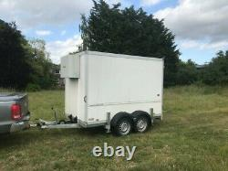 Chiller Trailer, Humbaur Twin Axle, 10ft X 6ft, Excellent Condition