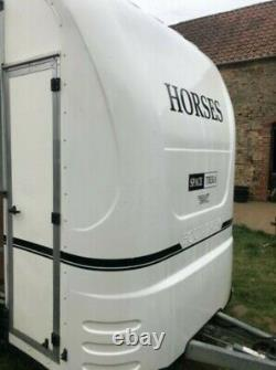 Converted Equitrek, Exhibition, Mobile Office, Shop, Event Twin Axle Box Trailer