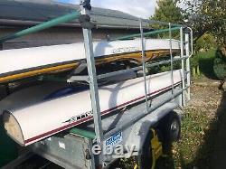 Dale Kane Canoe/SeaKayak Trailer/general Purpose 8ftx5ft Twin Axle