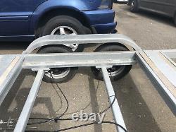 Double Axle Trailer With Suspension Twin Axle Braked Dep Heat Galvanized Steel