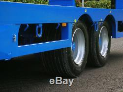 Farming Tractor Agri Plant Transporter Low Loader Fast Tow Twin Axle Trailer