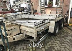 Graham edwards trailer 3500kg twin axle 3 Ton Digger Trailer/ Car Transporter