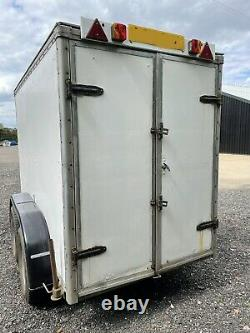 Heavy Duty Box Trailer Twin Axle