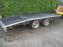 IFOR WILLIAMS BEAVERTAIL TRAILER 14Ft x 6Ft 6 TWIN AXLE