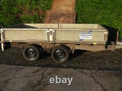 IFOR WILLIAMS TRAILER 10Ft x 5Ft TWIN AXLE