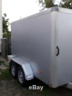 INDESPENSION Box Trailer TOW A VAN TWIN AXLE