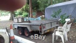 INDESPENSION PLANT TRAILER, TWIN AXLE, 3 ton gross weight