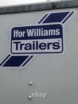 Ifor William Twin Axle Box Van Trailer