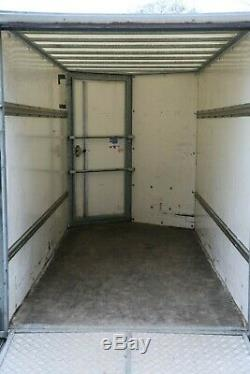 Ifor Williams 10x8 twin Axle Box trailer with drop down tailgate