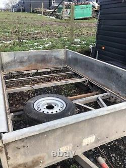 Ifor Williams 8 X 6 Braked Twin Axle Plant/Machinery Trailer