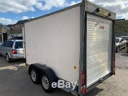 Ifor Williams BV105G box van trailer Twin axle No VAT
