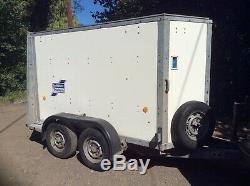Ifor Williams BV84 box trailer Twin axle Walk-in