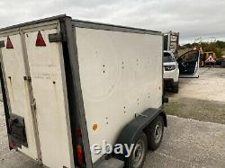 Ifor Williams Box Trailer BV84 Twin Axle