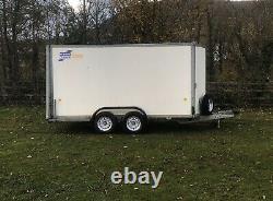 Ifor Williams Box Trailer Bv125 Twin Axle 6 High 2.7t