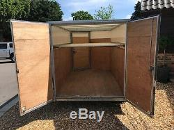 Ifor Williams Box Trailer Bv85g 2700kg Gross, Twin Axle Easy Tow Good Condition