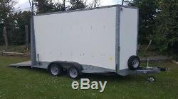 Ifor Williams Bv126 7ft Twin Axle 3500kg Box Trailer Ramp Or Twin Rear Doors