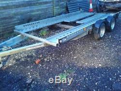 Ifor Williams CT136HD Twin Axle Car trailer transporter