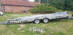 Ifor Williams CT177 2018, Tilt bed 3.5t car trailer NO VAT, excellent condition