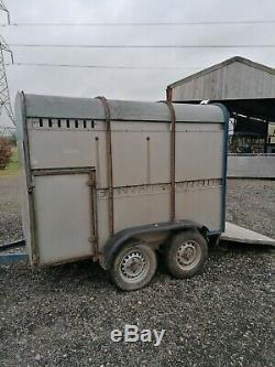 Ifor Williams Cattle Trailer, 10 foot, Twin Axle