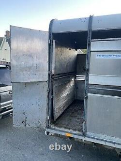 Ifor Williams DP120G-12 Twin Axle Livestock Trailer with Gates and Decks 3500kg