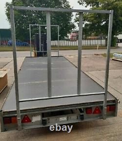 Ifor Williams Flatbed Trailer 16ft Lm166g Twin Axle 3500kg (used)