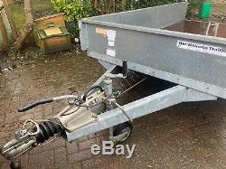 Ifor Williams GD 105 twin axle trailer (10 x 5)