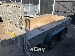 Ifor Williams GD105 Goods General Purpose Twin Axle Ramp Tailgate Trailer NO VAT