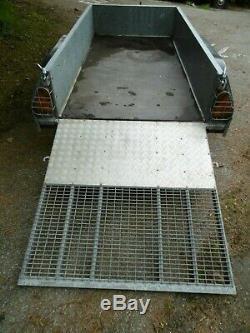 Ifor Williams GD84 8x4 Ramp Twin axle trailer